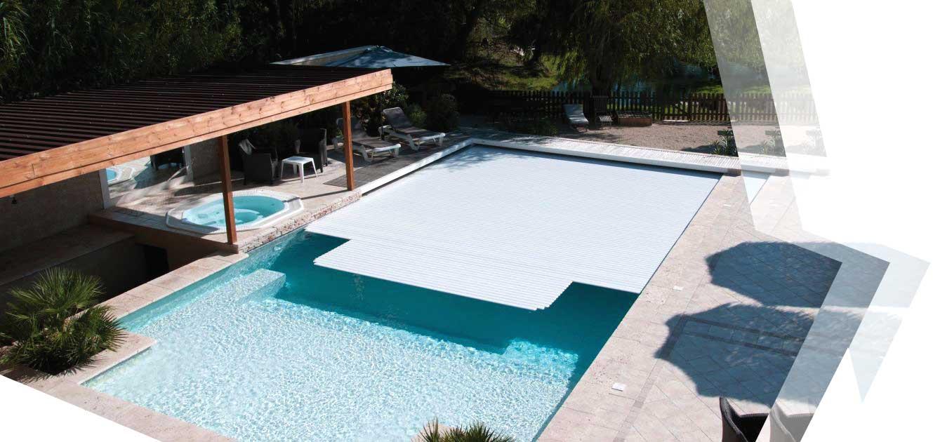 volet de piscine automatique